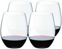 "Набор бокалов 4 шт. Riedel Buy 4 Pay 3 ""O"" Cabernet/Merlot / Ридель ""О"" Каберне/Мерло машинная работа"