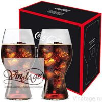 Набор бокалов 2 шт. RIEDEL COCA-COLA GLASS / Ридель Кока Кола 2*0,48 л