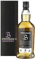 Whisky Springbank 18 Years Single Malt  / Виски Спрингбэнк Сингл Молт 18 лет 0,7 л