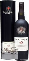 Портвейн Taylor's 10-Year Old Tawny Port / Тэйлорс 10 лет выдержки в тубе 0,75 л