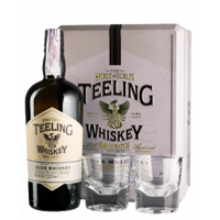 Irish Whiskey Teeling Irish Whiskey Blend 46%/ Тилинг Бленд 0,7 + 2 бокала