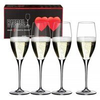 "Набор бокалов 4 шт. Riedel ""Heart to Heart"" Champagne 330 ml"